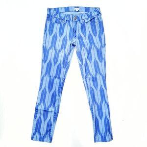 CLOSING SALE!! J. Crew Tribal Print Jeans